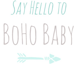 say hello to boho baby
