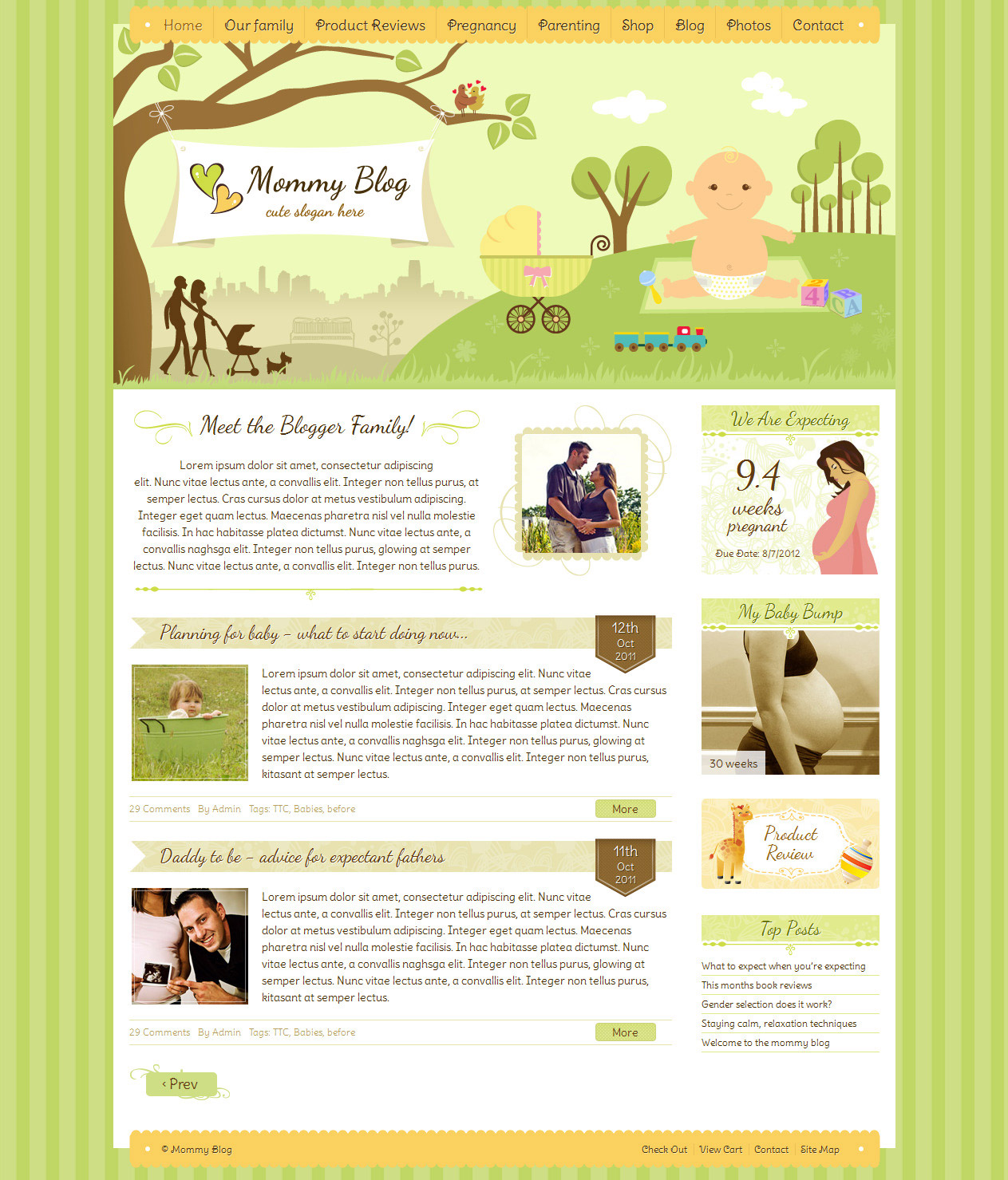 Mummy Blog Wordpress theme